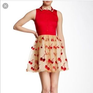 Alice and Olivia cherry dress
